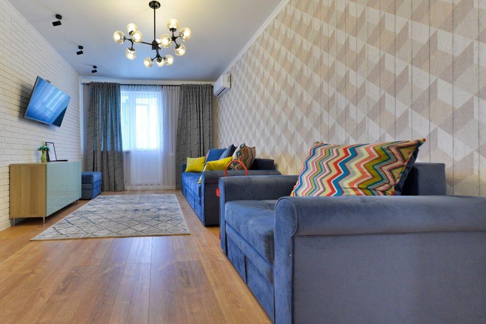 Сдам шикарную новую 2х комнатную квартиру ЖК Лазурный квартал