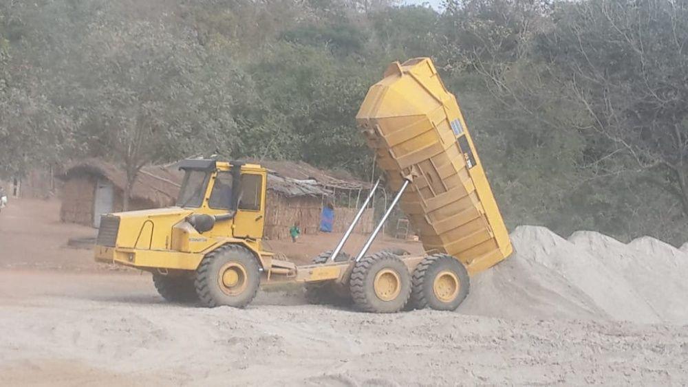 Komatsu HA250 dumper em bom Estado