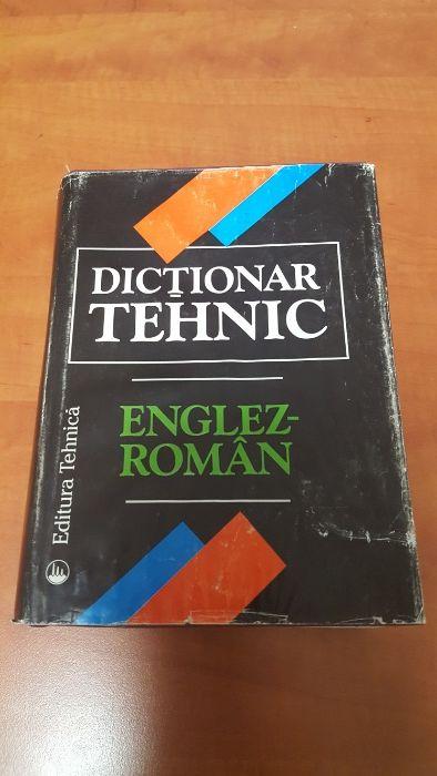 Dictionar tehnic englez-roman