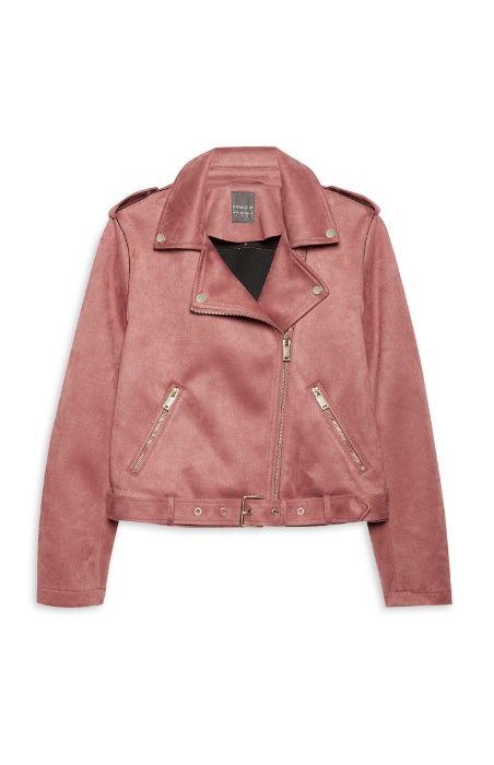 Geaca dama Primark 42 / Suede Biker Jacket