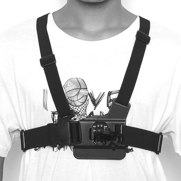 Стойка за гърди / Chest strap за екшън камера Gopro, Eken h9, SJ