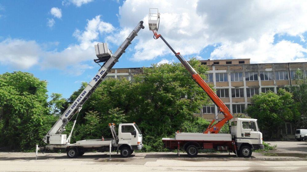 Услуги с автовишка и мебелен лифт 19 и 33 метра !!! Вишка ; Хаспел !
