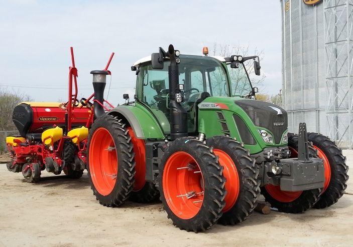 сдвояване на джанти за трактори и комбайни