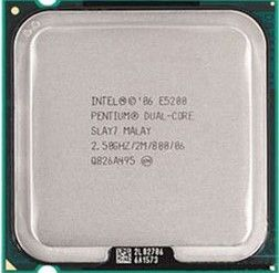 Procesor Intel Pentium, Dual Core, E5200, 2,5GHz, LGA775, FSB 800MHz