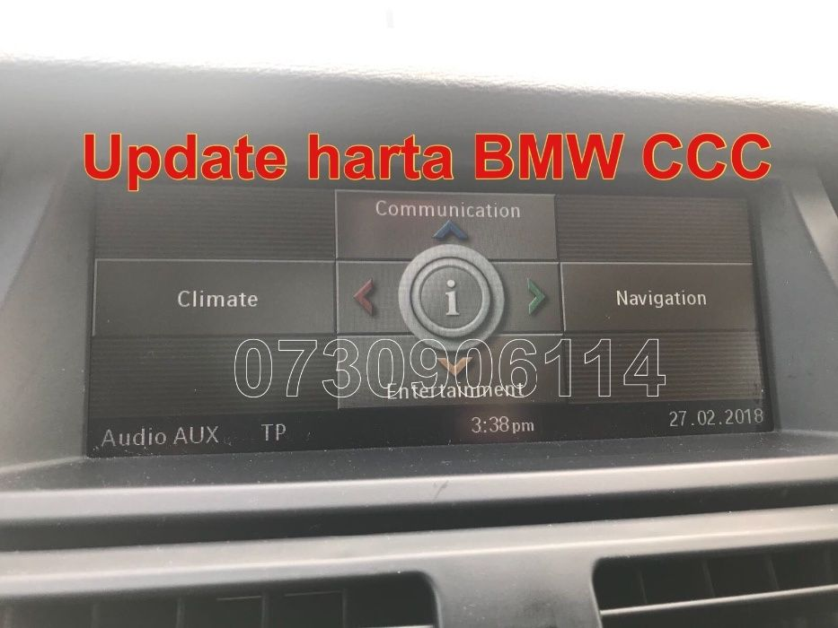 DVD BMW 2018 Update Professional 1 3 5 X5 X6 Romania+Eu E90 E60 E70