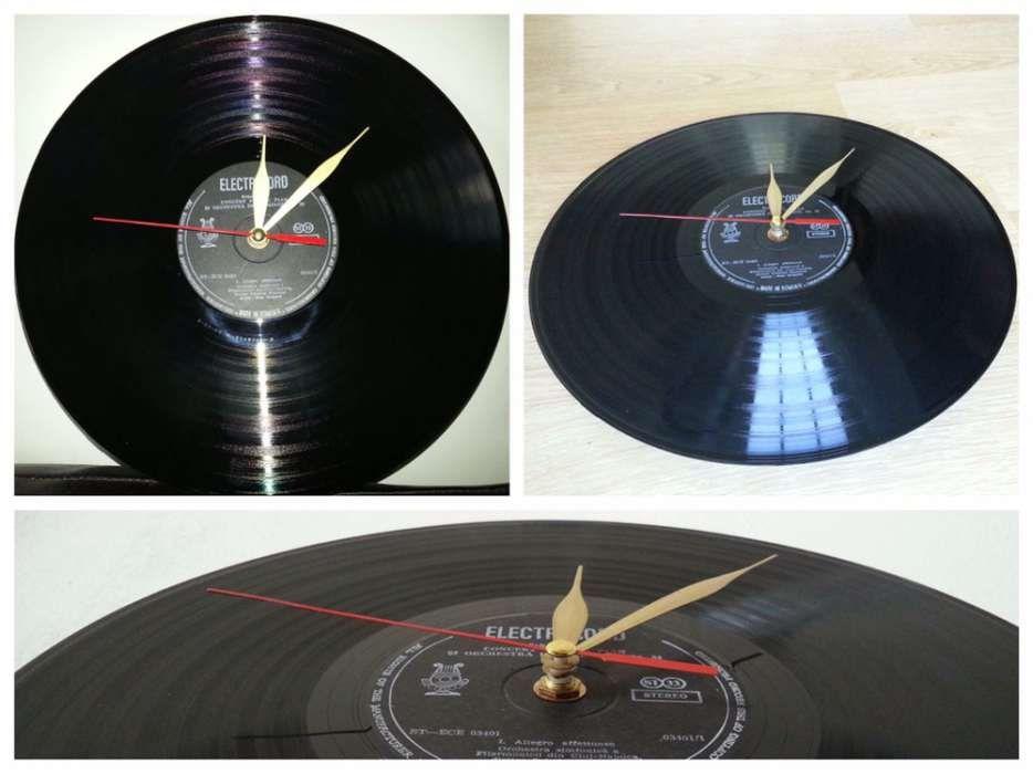 Ceas perete ceas vinil ceas ceasuri vinyl platan ceas disc ceas dj