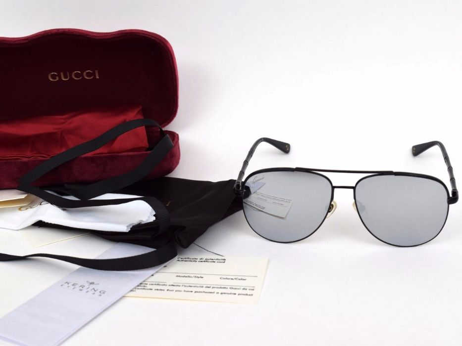 Слънчеви очила Gucci Gray