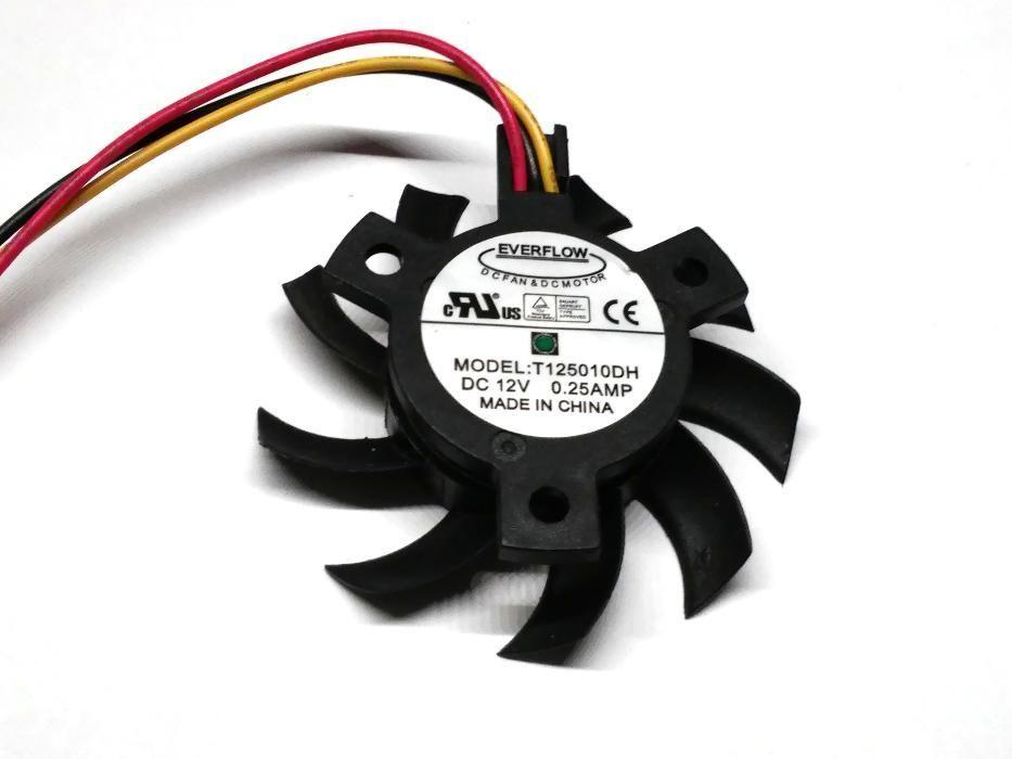 Ventilator placa video Everflow T125010DH 12V 0.25AMP