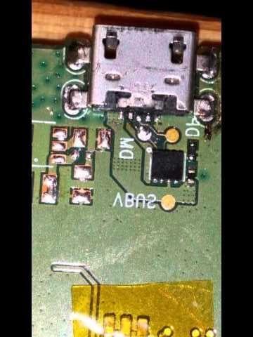 Ремонт телефони, таблети, лаптопи - смяна USB (зарядна) букса гр. Габрово - image 1