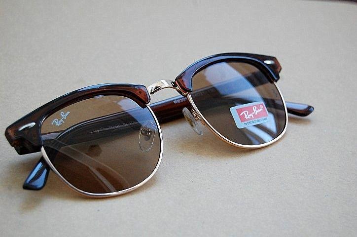 Ochelari Ray Ban RB3016 Clubmaster || Lentila sticla ||Deschidere la l