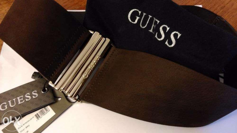 Curea femei pentru talie Guess piele. Made in Italy