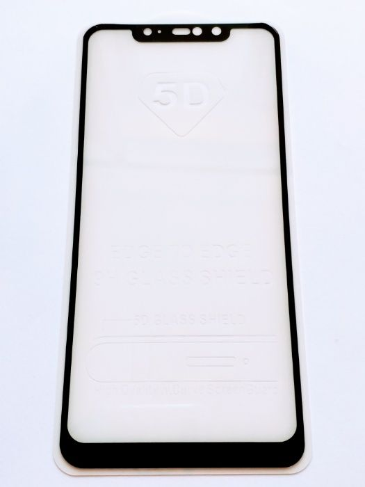 Xiaomi Redmi Note 6 Pro Стъклен протектор 5D Full Glue