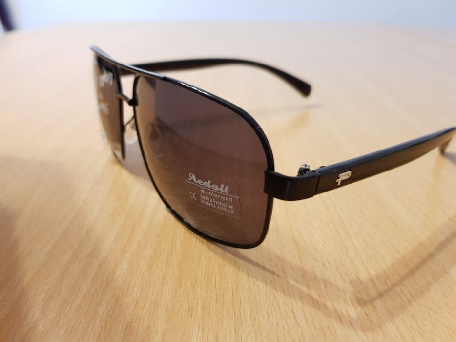Ochelari de soare cu lentila polarizată si rama aluminiu sau plastic