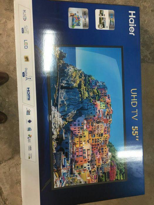 Promoção de tvs Led FULL HD 4k SMART haier 55 polegadas