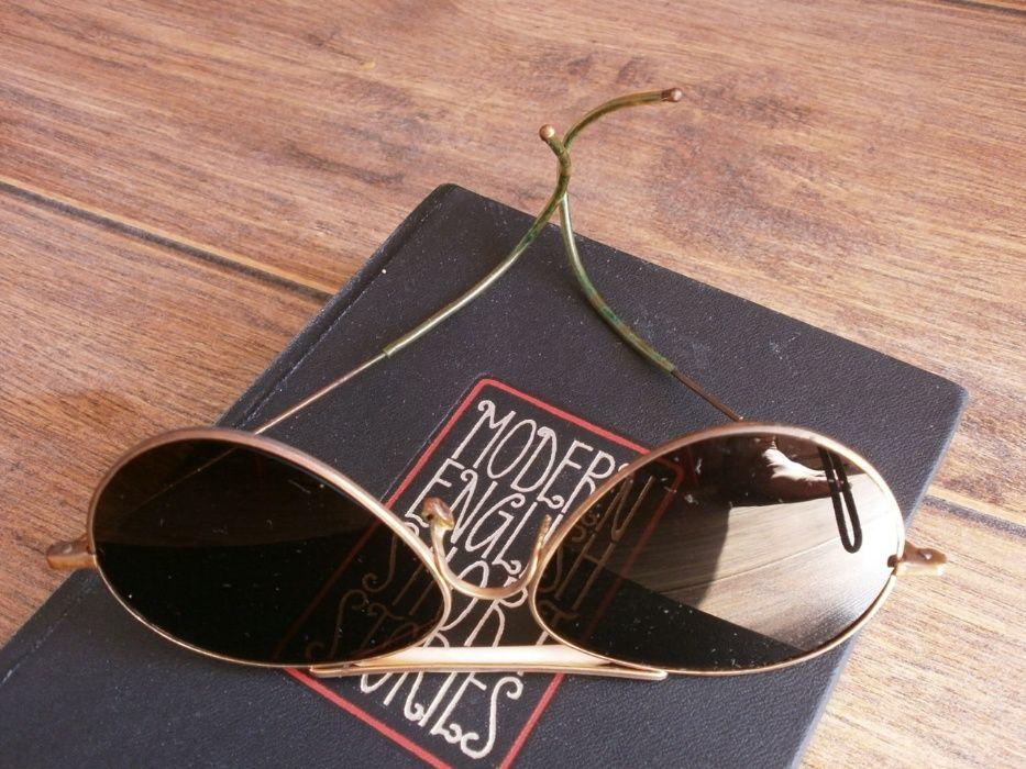 Ретро Слънчеви Очила тип Пилотски от 50те от Ница