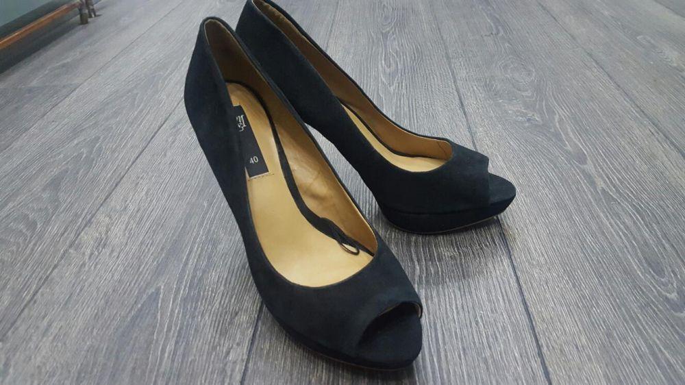 Pantofi piele naturala Mango