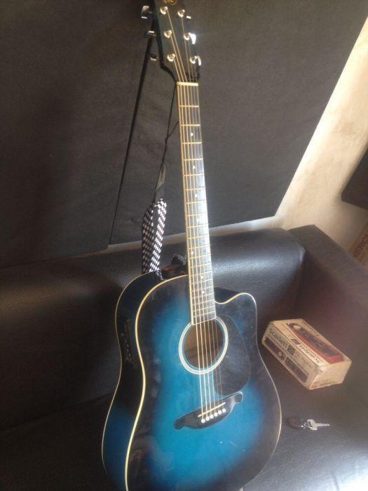 Guitarra semi acustica a venda