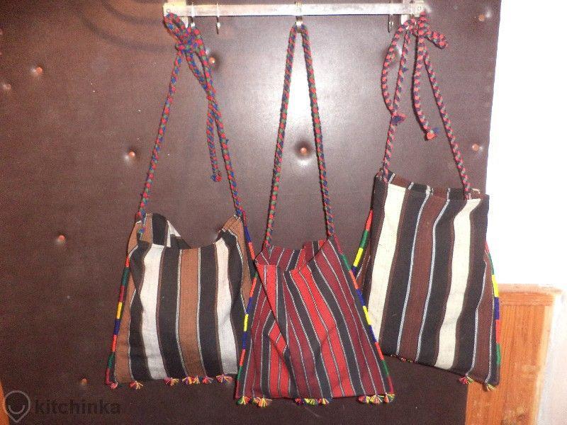 Торби ръчно изработени