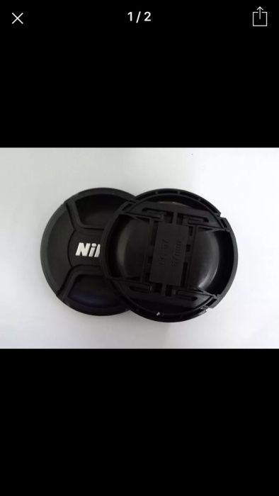 Capac obiectiv foto Nikon 52 mm 58 mm 67 mm 77 mm 82 mm