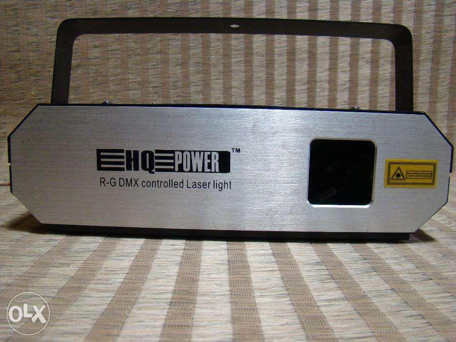 hq power laser TRI 160 DMX Scanning Laser (160MW, RED, GREEN, YELLOW