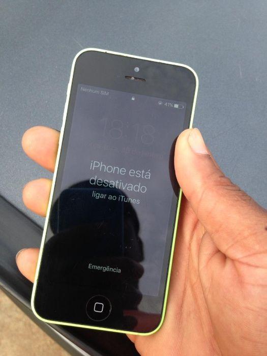 iPhone 5c bloqueado