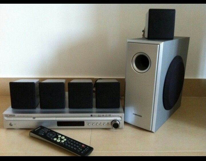 Dvd home theater samsung 5+1
