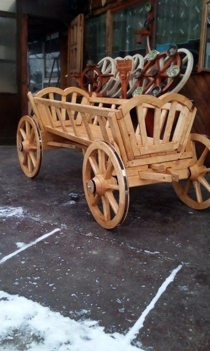 Caruta din lemn pentru oranament