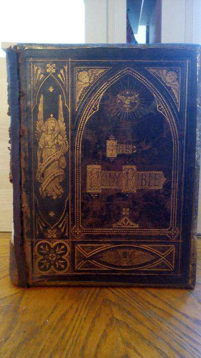 Vand BIBLIE veche origine Anglia