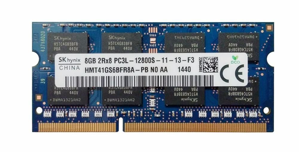 Memorie laptop 8GB Hynix PC3-12800 DDR3-1600MHz HMT41GS6BFR8A DDR3L