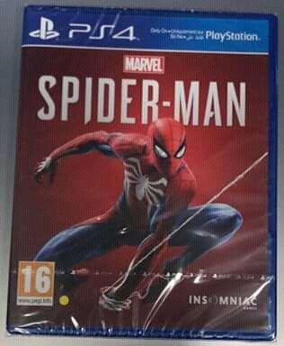 Jogos PS4 Spider-Man
