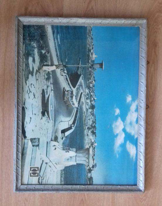 Стария Несебър - Стара голяма снимка в рамка 60 x 45 см