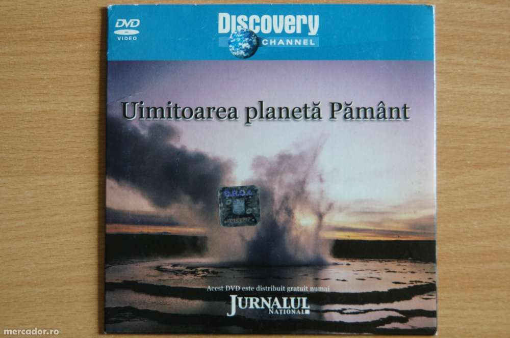 "Dvd Discovery - ""Uluitoarea planeta Pamant"""