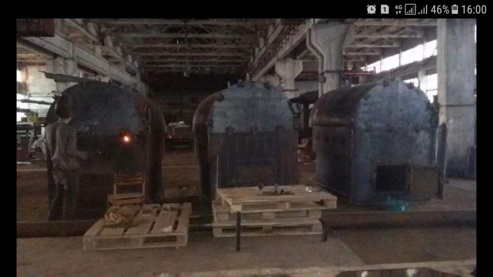 Промышленные водогрейные и паровые котлы