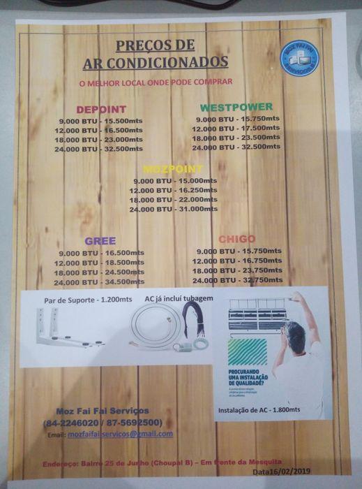 Ar condicionados split novos com garantia