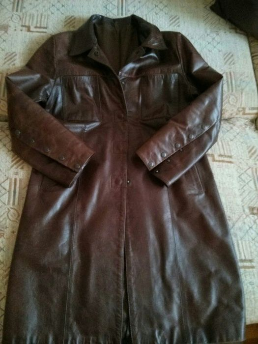 Дамско кожено манто/ яке