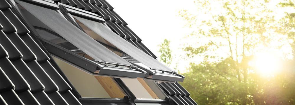 Rulou exterior parasolar Velux MHL manual CKO2