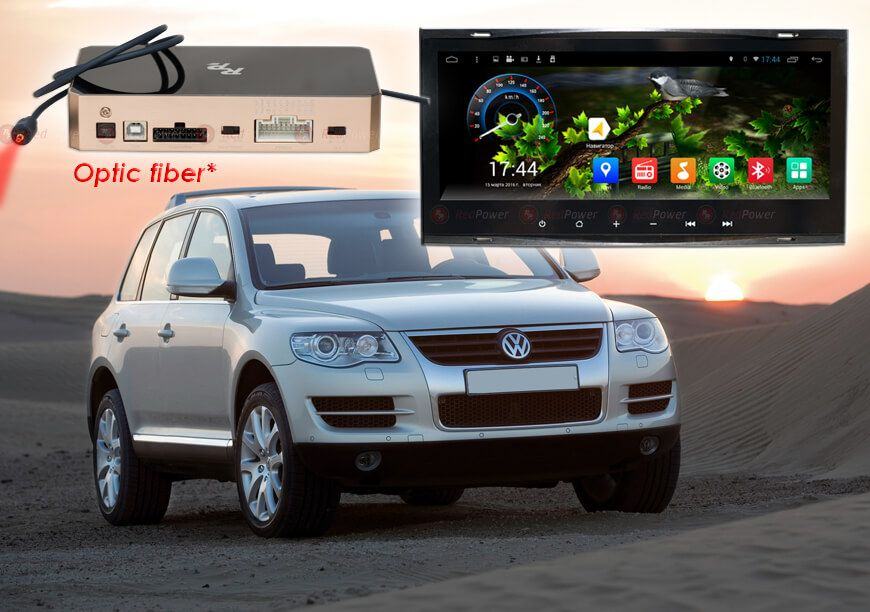 Автомагнитола Андроид для Porshche/BMW/VW Redpower/Dsk Петропавловск