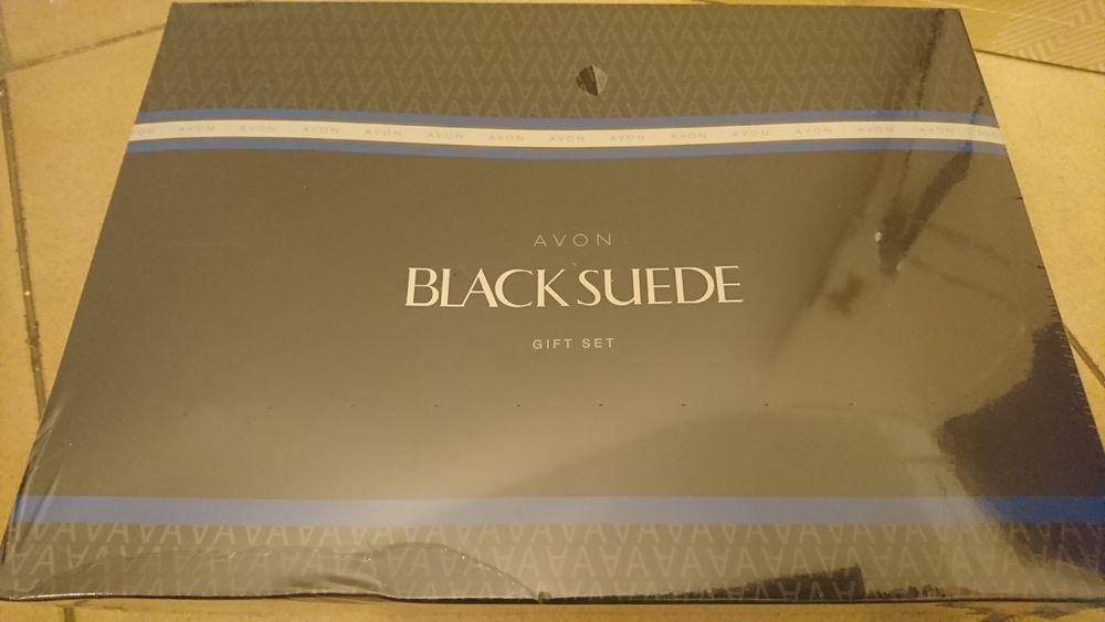 Kit de Perfume Avon Black Suede