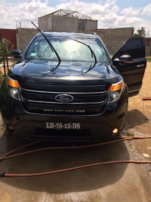 Ford explorer full autômatico pega start carro limpo