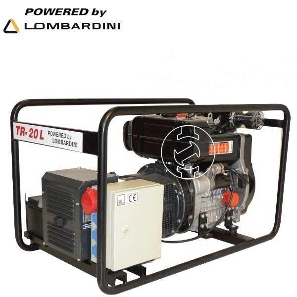 Inchiriere Generator curent electric Lombardini 19KWA