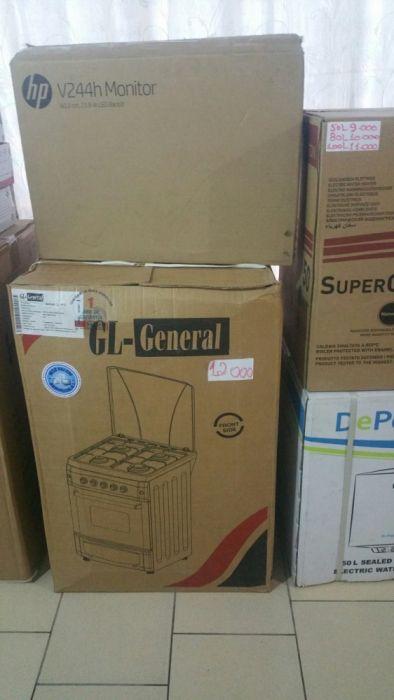 Fogões da marca GL General 3/1 novos na caixa com garantia