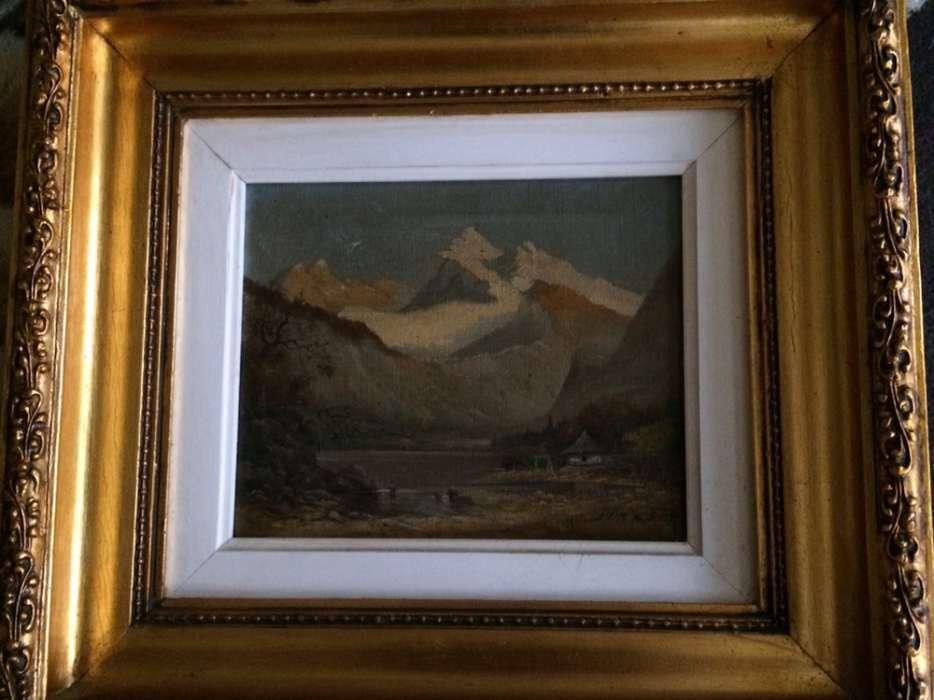 Tablou Stein- Casa la munte