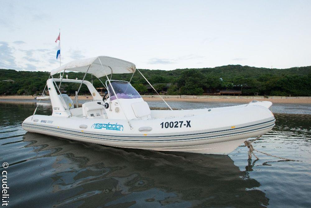 Brig Eagle 645 - 6.45m inflatable boat - Honda 150hp 4 strokes