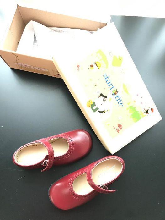 Детски кожени обувки Start rite 25F