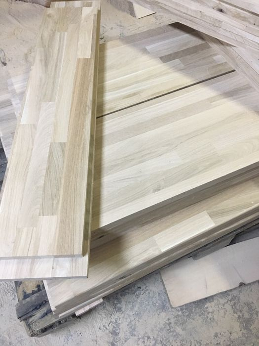 Panouri lemn masiv - lamela continua / imbinate in dinti