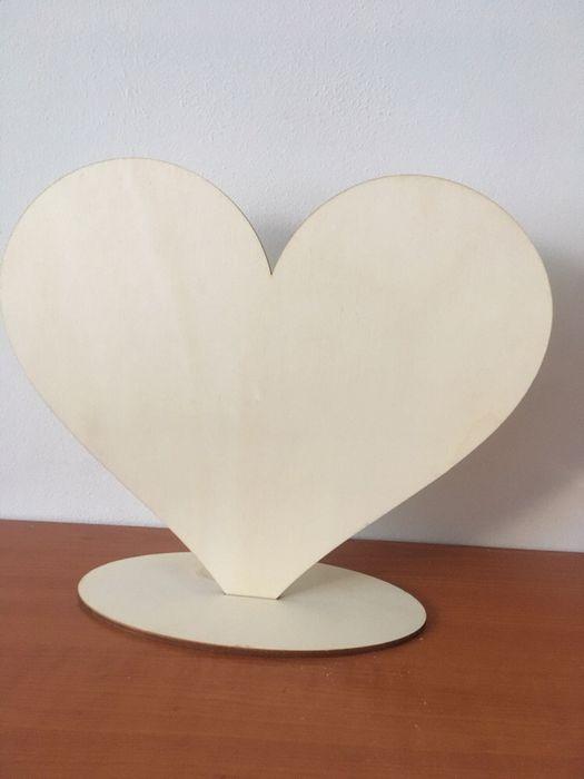 Cutii lemn - Inima decorabila din lemn