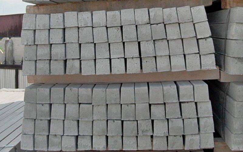 Stâlpi Gard din Beton cu Armătură Metalică - Transport Gratuit