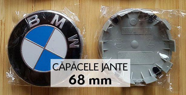 Capacele jante BMW - NOI - 68 mm cu 10 picioruse Seria 1,2,3,4,5,6,7