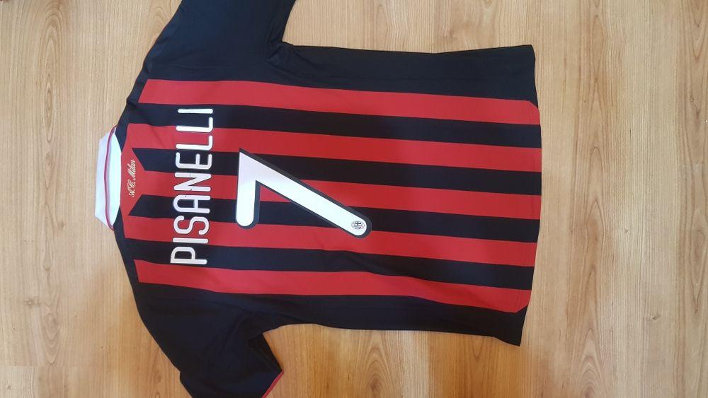 Tricou AC Milan Adidas original Pisanelli mărimea M