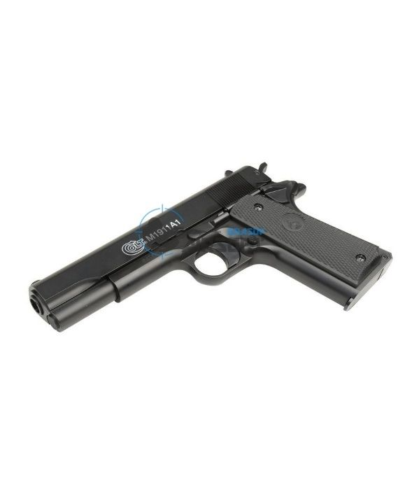 Pistol Airsoft Colt M1911 spring(arc) metal slide